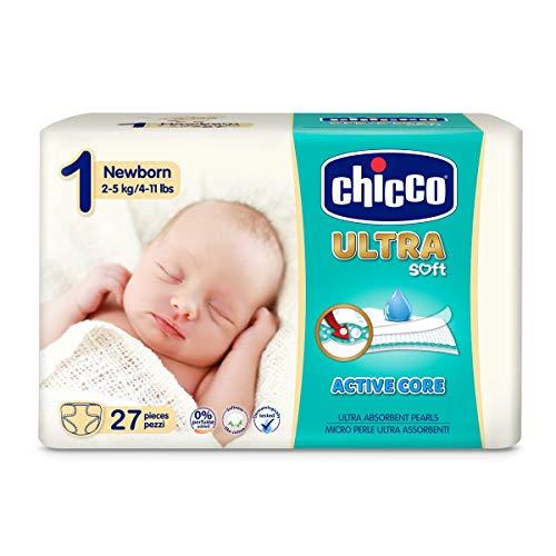 Chicco Pannolino Ultra Newborn, 27 Pezzi - 10 ml