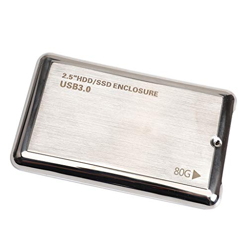 F Fityle Hard Disk Esterno Portatile da 2,5 Pollici HDD Ultra Slim USB 3.0 per Laptop/Desktop/Mac...
