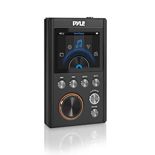Pyle Hi-Res Mp3 Player - Portable High Resolution Lossless Digital Audio Pdap18Bk