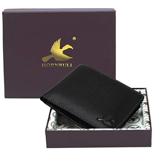 HORNBULL Maddison Men's Genuine Leather Wallet 1  HORNBULL Maddison Men's Genuine Leather Wallet 41UWIEwkG1L