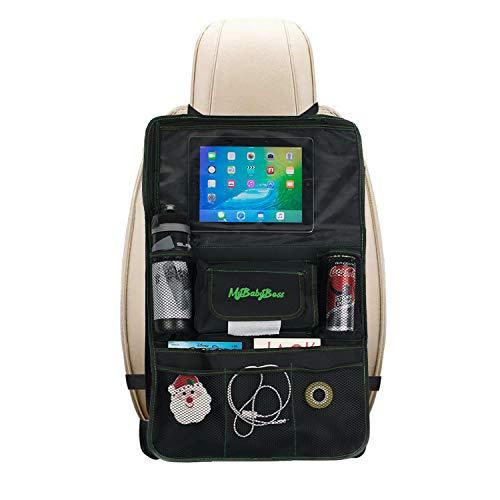 MyBabyBoss   Protezione Sedili Auto Bambini, Organizer per Auto, Supporto per Tablet, Proteggi i...