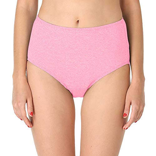Adira Women's Cotton Incontinence Brief - Light Pink, XX-Large