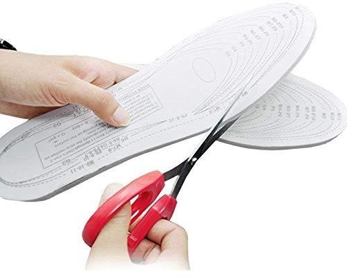 Mobhada Memory Foam Super Ultra Light Comfort Foot Shoes Insoles, Medium