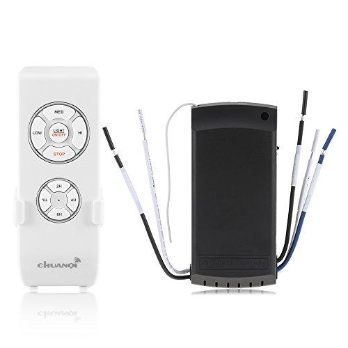 ONEVER Lampada Ventilatore a Soffitto Telecomando Kit e Timer Telecomando Wireless per...