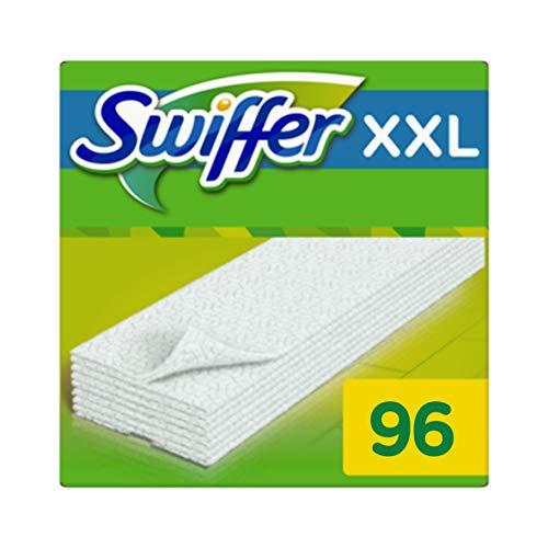Swiffer XXL Panni di Ricambio per Scopa, per Catturare e Intrappolare la Polvere, 6 x 16 ( 96 Pezzi...