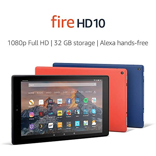 Fire HD 10 Tablet, 1080p Full HD Display, 32 GB, Black-with Special Offers 3  Fire HD 10 Tablet, 1080p Full HD Display, 32 GB, Black-with Special Offers 41Uj 2BJRKBvL