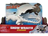 Spin master - snow wraith - dragon action blanc - dream works