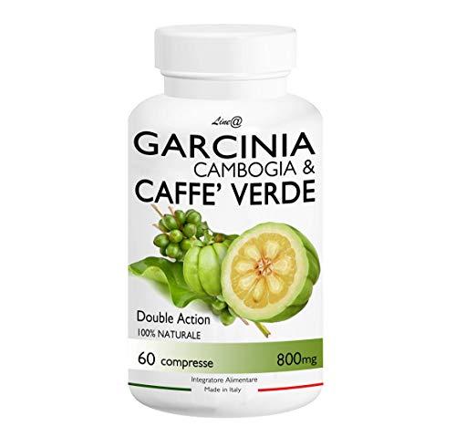 GARCINIA CAMBOGIA & CAFFE' VERDE / Line@Diet (60 compresse) 100% NATURALE ***BRUCIAGRASSI con DOPPIO RISULTATO!!! Stop a CARBOIDRATI e ZUCCHERI! Un ottimo alleato per la Dieta e per PERDERE PESO in FRETTA! Prodotto in ITALIA*** Brucia grassi e torni subito in forma!