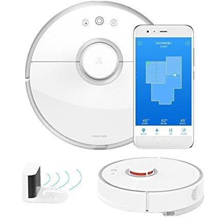XIAOMI robot Aspirapolvere 2 Pulizia intelligente per spazzare home office Controllo dell'app vaping...