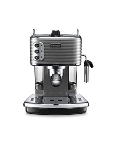 De'Longhi ECZ351.GY Macchina per Caffè Espresso Manuale Scultura, 1100 W, Acciaio inossidabile ,...