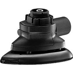 Black+Decker Multievo Schleifer-Kopf, Multifunktionswerkzeug-Zubehör (0-7500 Schwingungen pro Minute, mit Klett-Fix, inklusive 5 Schleifpapieren, Klett-Fix-Funktion, für Böden, Holz oder Möbel) MTSA2