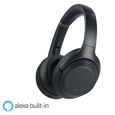 Sony WH-1000XM3 Wireless Industry Leading Noise Cancellation Headphones with Touch Sensor 24