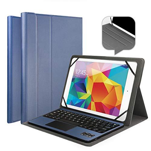 Wasan Tastiera Bluetooth Touchpad Italiano QWERTY, Custodia PU Pelle Batteria Ricaricabile...