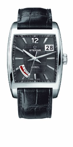 Eterna Madison Eight Day Uhr, Eterna 3510 Handaufzug, 7720.41.43.1228