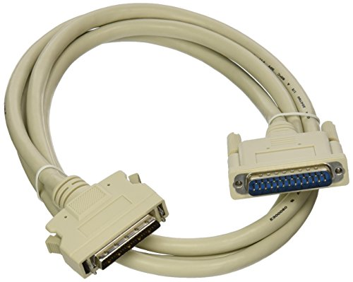 Monoprice HPDB50 M/DB25 M SCSI Cable _ Molded - 6ft