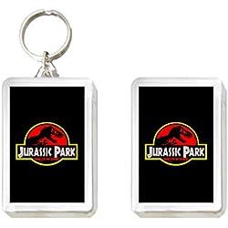 Sconosciuto Llavero y Imán Jurassic Park