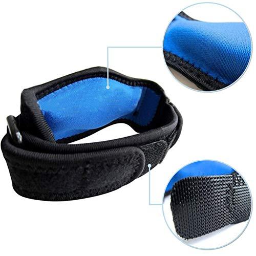 oxoxo med Tennisarm-Bandage mit stoß-absorbierenden EVA-Polstern | Soft-Lycra-Nähte für höchsten Tragekomfort | Beidseitige Ring-Schnallen für perfekten Halt | Epicondylitis-Spange