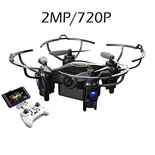 ERKEJI Droni Gravity Sensing Telecomando Mini Quadcopter Aereo Giocattolo 720 P / 1080 P Telecamera Aerea Trasmissione in Tempo Reale WiFi FPV VR