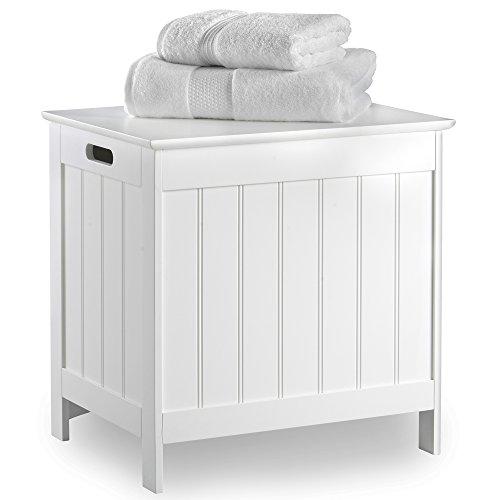VonHaus Wäschekorb für Badezimmer im Kolonialstil