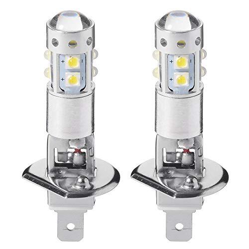 Maso 12V H1faro lampadine LED 7.5W 6000K super luminoso fari luci diurne per auto fari allo...