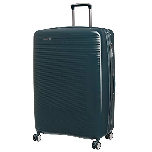 "IT Luggage 31.1"" Signature 8-Wheel Hardside Expandable Spinner, Reflecting Pond - Teal"