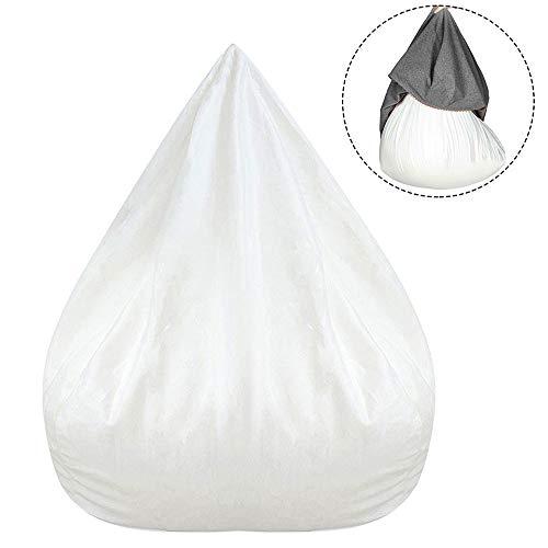 Dandelionsky Copertura per Poltrona a Sacco Fodera d'Interno con Cerniera per Poltrona a Sacco Filling Bag di Copri Lazy Bag (Fodera d'Interno, 100x120 cm)