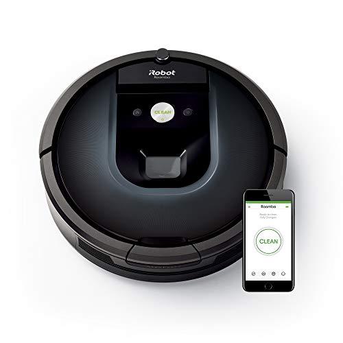 iRobot Roomba 981 Robot Aspirapolvere, Sistema di Pulizia ad alte Prestazioni, Dirt Detect, Spazzole...