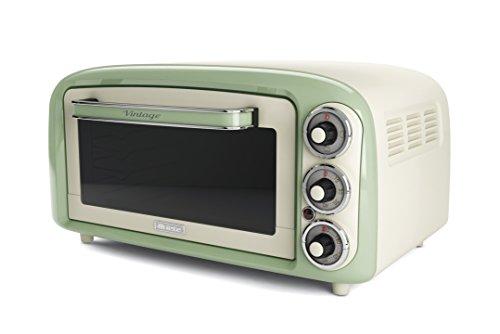 Ariete 979 - Forno Elettrico di Design 18 Litri, Idoneo per pizza da 30 cm, 1380W, 3 posizioni di...