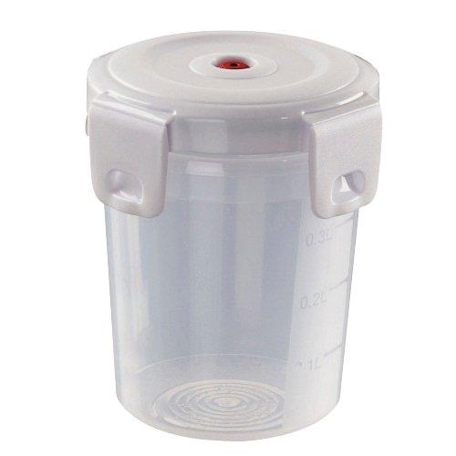 Microondas Curver contenedores / recipientes de alimentos seguros plástico de almacenamiento