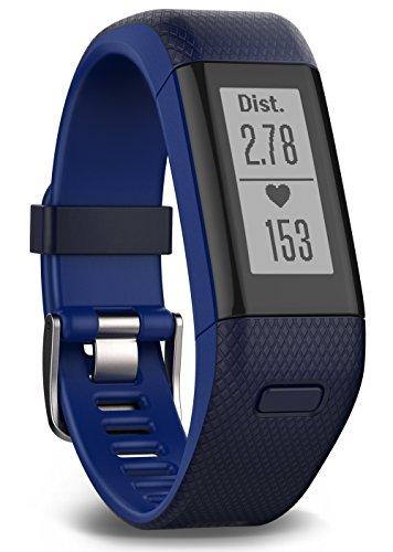 Garmin Vívosmart HR+ Fitness-Tracker - GPS-Fähig, Herzfrequenzmessung am Handgelenk, Smart Notifications