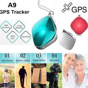 SLB Works Brand New Mini GPS Tracker for Kids Elder Pets Vehicle Car Map Alarm GSM GPRS Locator Hot