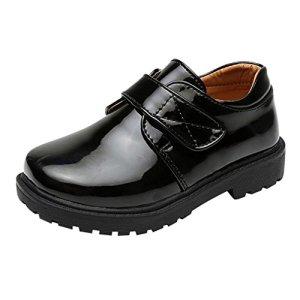Junkai Kids Shoes – Black, School, Formal, Party, Dress Shoes for Boys Girls – ka18062606 41Vo9m41LgL