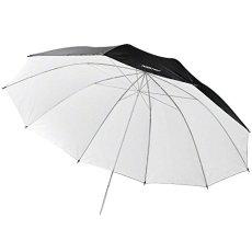 Walimex Pro - Paraguas reflector (150 cm), color blanco/negro