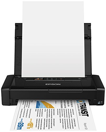 Epson Workforce WF-100W Stampante Portatile d'Inchiostro Inkjet, A4, Wireless, Nero