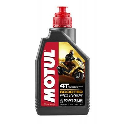 Aceite moto MOTUL 10593610 W30,4T, 1 litro