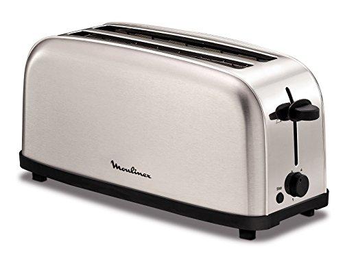 Moulinex LS330D11 4fetta/e 1400W Acciaio inossidabile tostapane