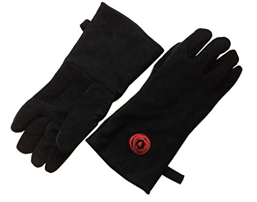 The Ecolighters Premium 100% Leather Stove Gloves are a good pair to invest in. The seams are well constructed and the material used is of good quality. They can be used for various activities around the house from a family barbecue to welding metal pieces together. We like that they come in black which blends in every environment. They are stylish leather gloves that will offer you comfort. If you can get your right size, do yourself a great favour and buy them.