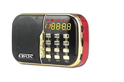 SaleOnTM BKK B832 Pocket Rechargeable USB, Memory Card Speaker Old FM Radio Campus Broadcast Portable Walkman MP3 Player Stereophony Use 2200 Battery 722