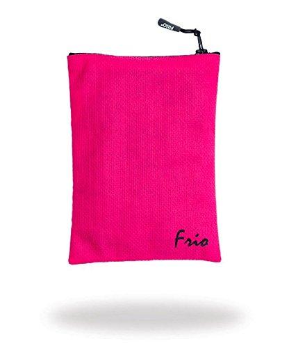 Frio tasca Viva a zip rosa