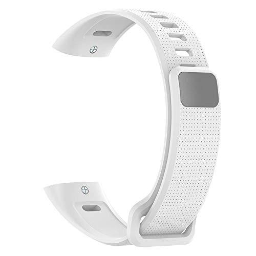 Cinturino in silicone per Huawei Band 2/Band 2 Pro/ERS-B19/ERS-B29 bianco