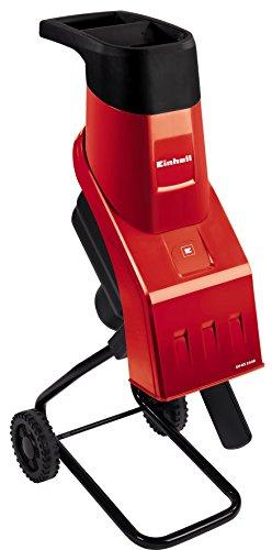 Einhell Elektro-Messerhäcksler GH-KS 2440 (2400 Watt, 40 mm Aststärke, inkl. Stopfer und Fangsack)