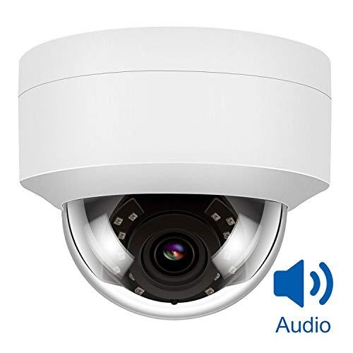 IP PoE Telecamera di Sicurezza 5MP HD, Anpviz IP Camera Supporto Audio Dome Telecamera da Sorveglianza Rilevazione Movimento
