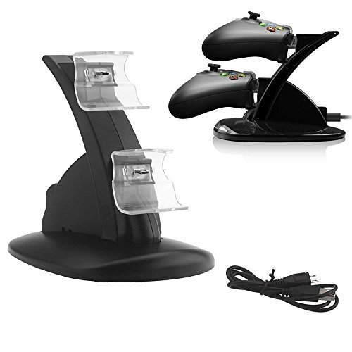 Xbox one Compatible Controller Charger ~ Fast Charging Stand ~ LED Charger ~ Dock Station Dual USB