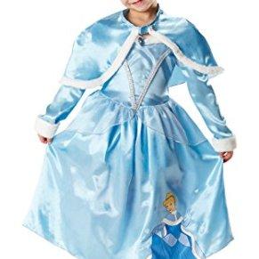 Rubies - Disfraz de Princesa Disney Cenicienta, Invierno en Wonderland para niña, talla S (I-881850S)