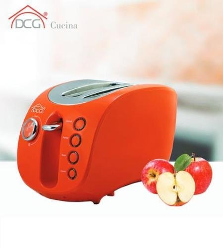 DCG Eltronic TA8690 2fetta/e 880W Arancione tostapane