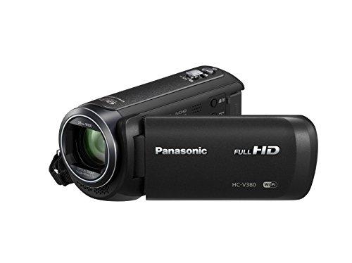 Panasonic HC-V380EG-K Videocamera Full HD, Nero
