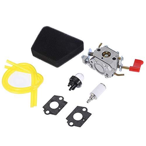 Fditt Campo Cortacésped Accesorio Carburador para Zama C1U-W32 Accesorios para Cortacésped Herramientas Eléctricas