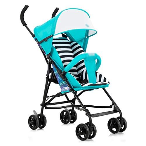 Passeggino può sedersi in Estate Leggero Leggero Traspirante Pieghevole Portatile Baby out Ultra...