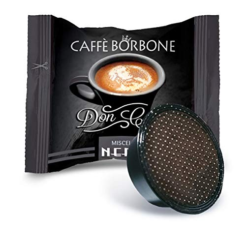 Caffè Borbone Don Carlo Miscela Nera - Confezione da 100 pezzi Capsule - Compatibile Lavazza A Modo...