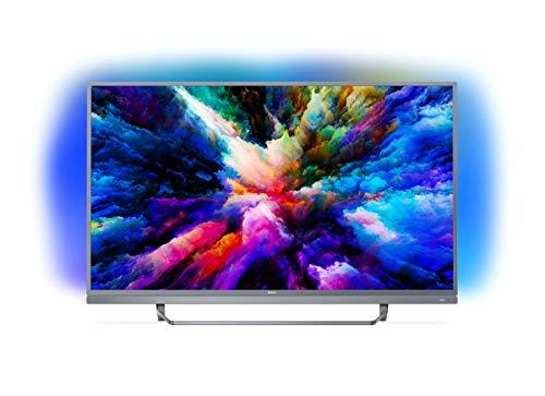 Philips 49PUS7503 Smart TV UHD 4K, da 49', Android, Ultra Slim, Ambilight, anno 2018 [Esclusiva...